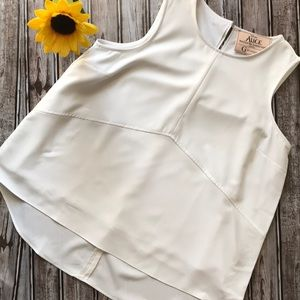 NWOT G by Giuliana Disney Collection white blouse